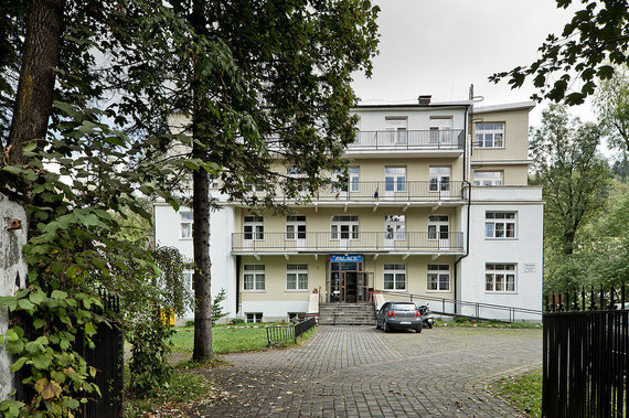 """Wikipedia.org nuotr./Vila """"Pan Tadeusz"""" Zakopanėje, kurioje vyko trečioji gestapo ir NKVD konferencija 1940 m. vasarį"""