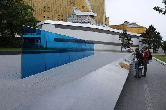 Wikipedia.org nuotr./T4 programos aukų memorialas Tirgartenštrasėje, Berlyne