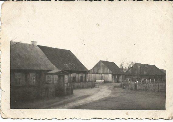 Vilijos Filipovičienės šeimos archyvo nuotr./Kaimas Sibire, kur gyveno lietuviai