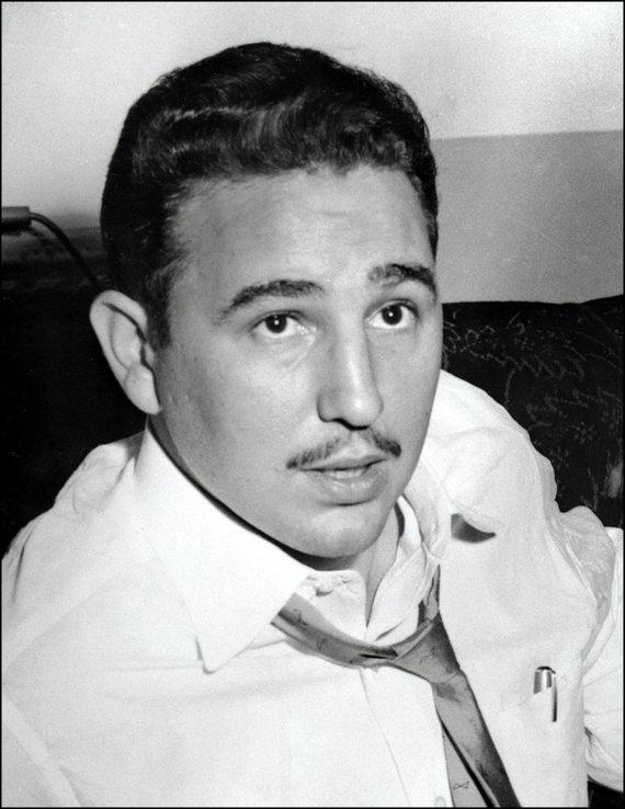 """AFP/""""Scanpix"""" nuotr./Fidelis Castro 1955 m."""