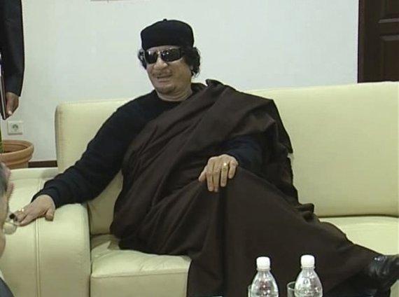 """Reuters""/""Scanpix"" nuotr./Muamaras Kadhafi"