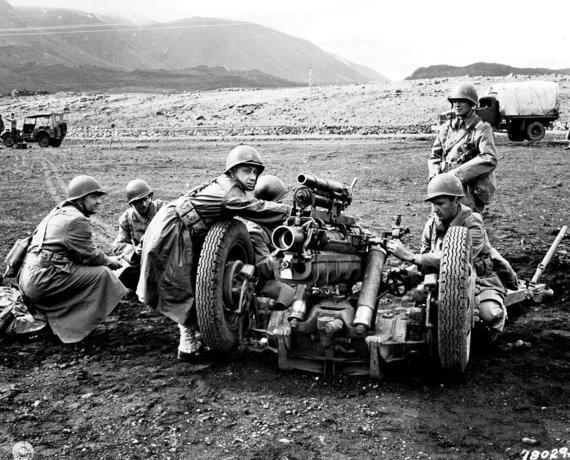 Wikipedia.org nuotr./JAV kariai Islandijoje 1943-iaisiais