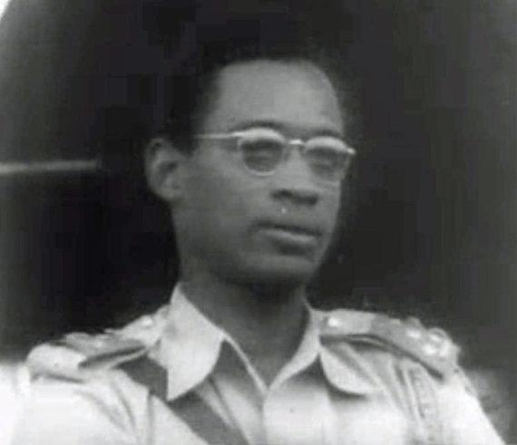 Wikipedia.org nuotr./Pulkininkas Mobutu 1960-aisiais