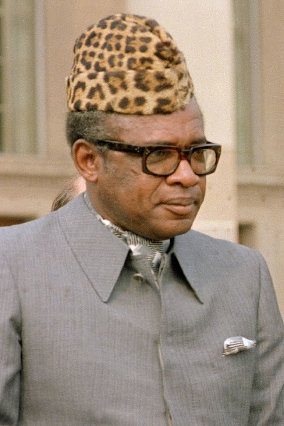Wikipedia.org nuotr./Mobutu Sese Seko (1983 m.)