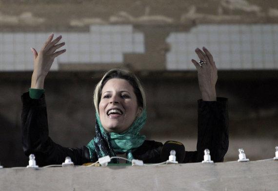 "AFP/""Scanpix"" nuotr./Muamaro Kadhafi dukra Ayesha"
