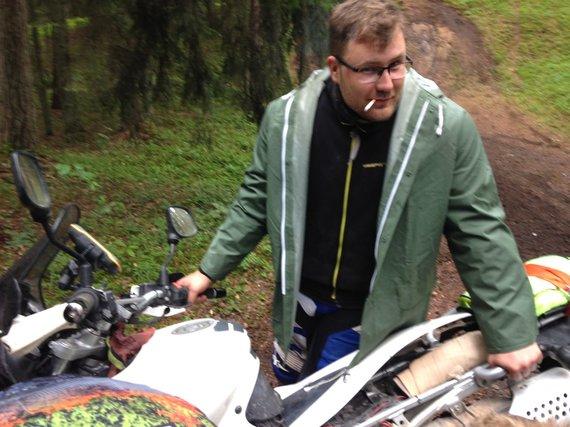 Motociklininke.lt nuotr./Šarūnas Padervinskas