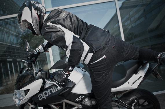 Asm. arch. nuotr./Motociklininko apranga