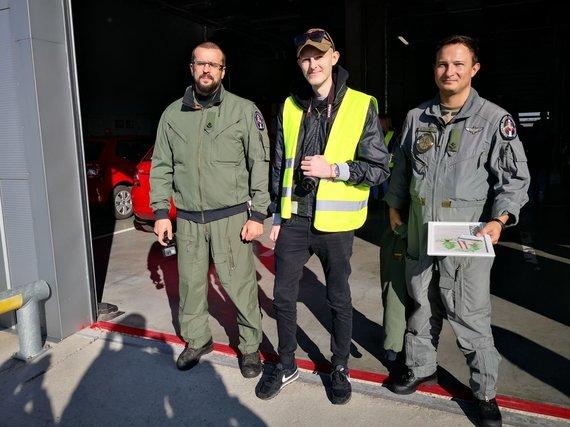 Žilvino Pekarsko / 15min nuotr./Organų donorystės diena Vilniaus oro uoste