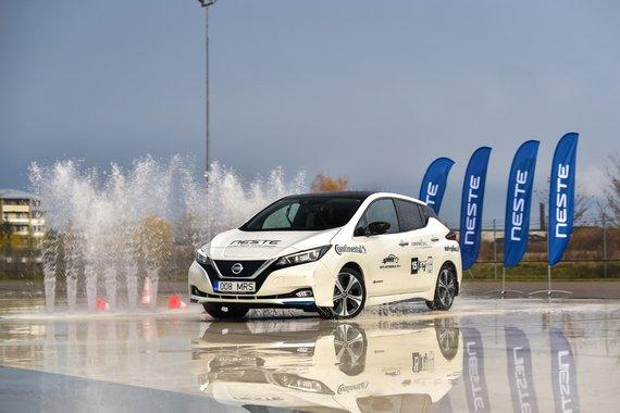 Lietuvos metų automobilio konkurso 2019 nuotr./Nissan LEAF
