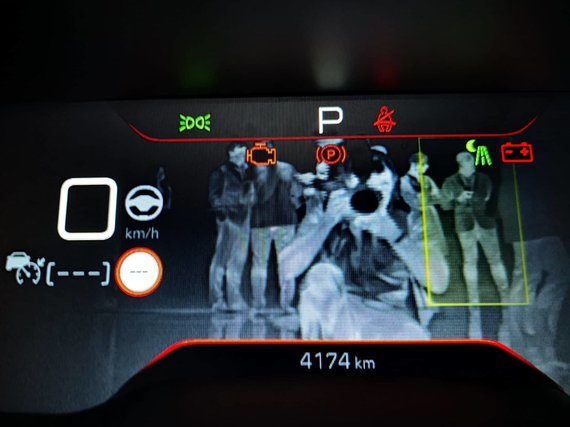 "Žilvino Pekarsko / 15min nuotr./""Peugeot 508"" naktinio matymo įranga"