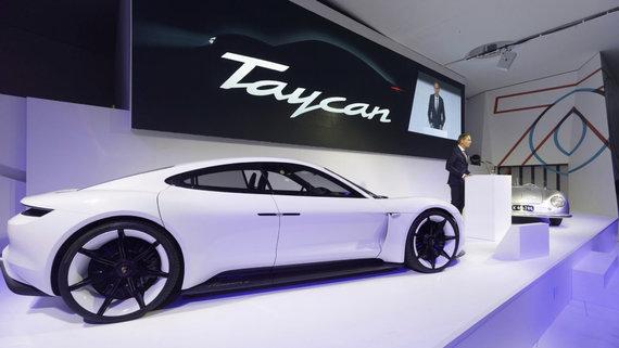 """""""Scanpix""""/AP nuotr./""""Porsche Taycan"""""""