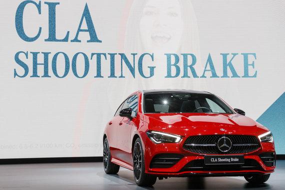 """Reuters""/""Scanpix"" nuotr./""Mercedes-Benz CLA Shooting Brake"""