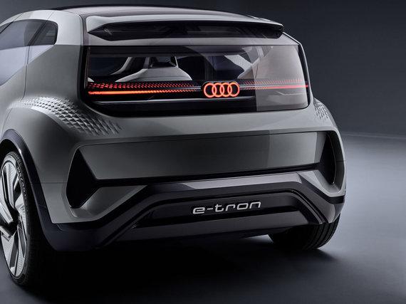 Audi nuotr./Koncepcinis elektromobilis Audi AI:ME
