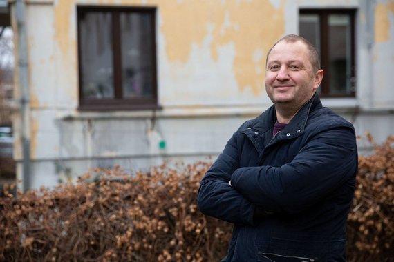 15min nuotr./Meteoritų ieškotojas, Žemaitkiemio ekspedicijos organizatorius Michailas Ivanovas