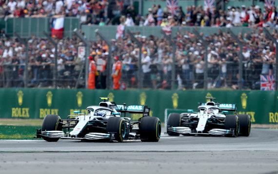 """""""Scanpix"""" nuotr./Didžiosios Britanijos GP laimėjo Lewisas Hamiltonas"""