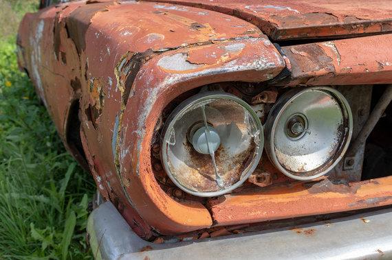 123RF.com nuotr./Automobilių sąvartynas