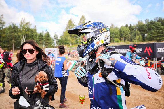LMSF/ Andriaus Lauciaus nuotr./Motociklų Enduro sprint varžybos Šilutėje