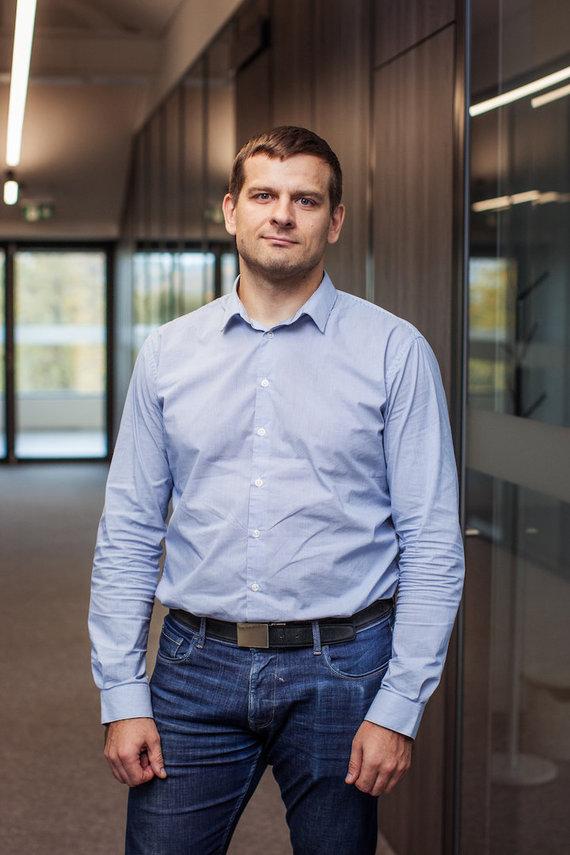 """Devbridge nuotr./""""Devbridge"""" Technologinių praktikų vadovas Vytautas Paulauskas"""