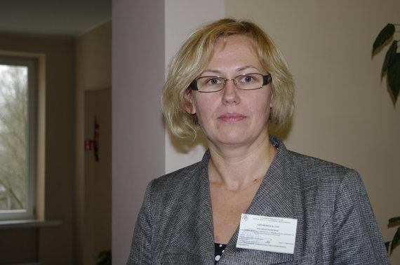 V.Danauskienės nuotr./Solveiga Truncienė, Alovės rinkimų apylinkės pirmininkė