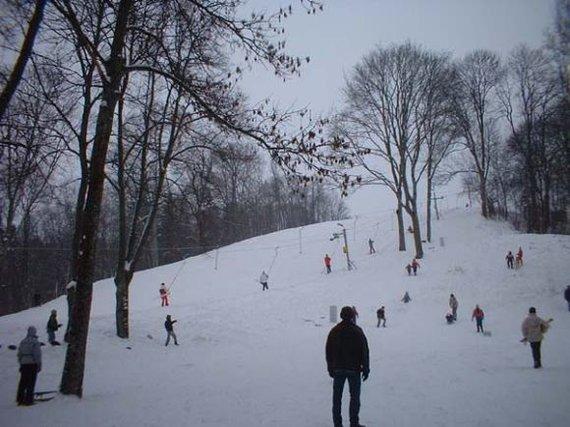 N.Laurinavičiaus nuotr./Birštono slidinėjimo trasa