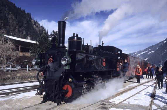 Vida Press nuotr./Traukinys Ciletalio slėnyje