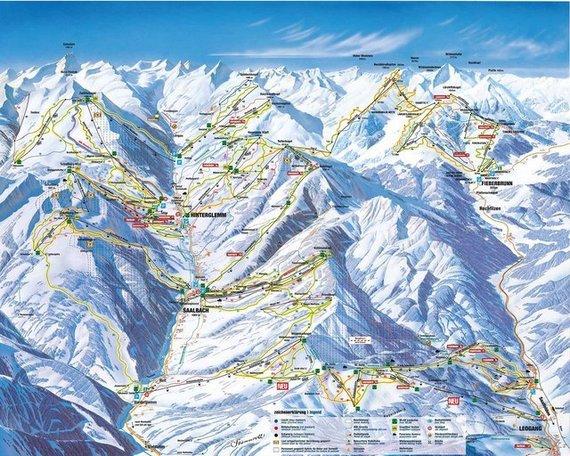 Ar taps Skicircus didžiausia slidinėjimo zona Austrijoje?