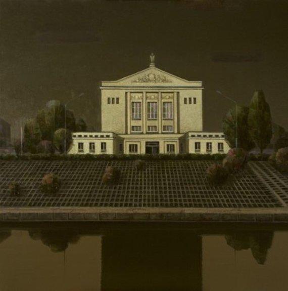 Algio Griškevičiaus reprodukcijos/Karaliaus M. apartamentų sapnas