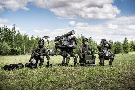 KAM nuotr./Lietuvos kariuomenės Oro gynybos batalionas Radviliškyje