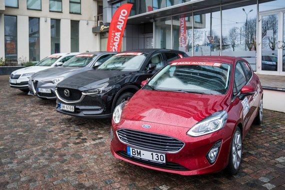 """Latvijos metų automobilio konkurso organizatorių nuotr./Konkursas """"Latvijos metų automobilis 2018"""""""
