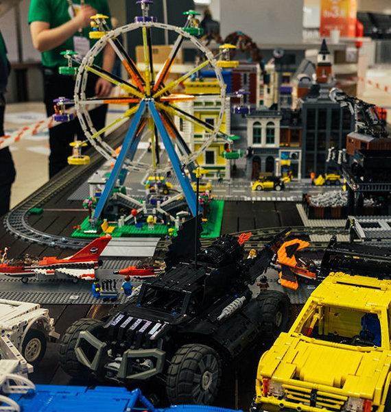 Robotiados nuotr./LEGO robotai