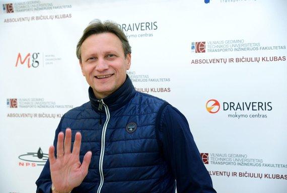 VGTU nuotr./Žurnalistas, keliautojas Vitoldas Milius