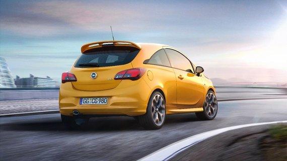 """Opel nuotr./Naujasis """"Opel Corsa GSi"""": sportiškas spuogas ant ratų"""