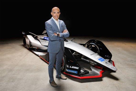 """Nissan nuotr./Michael Carcamo, """"Nissan Motorsport"""" vadovas."""