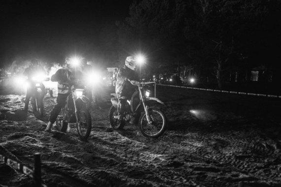 I.Kontrauskienės nuotr./Naktinis ralis