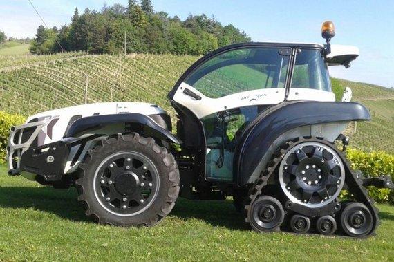 Šis keistas traktorius neprimena superautomobilio, bet yra vadinamas Ferrari. (Ferrari traktoriai)