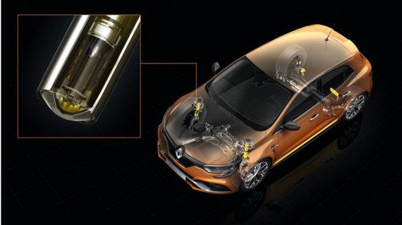 """Renault nuotr./Naujasis """"Renault Megane R.S."""""""
