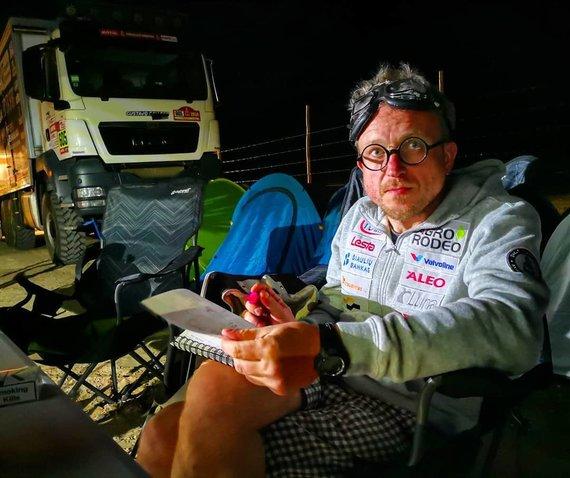 Žilvino Pekarsko / 15min nuotr./Saulius Jurgelėnas Dakare 2018