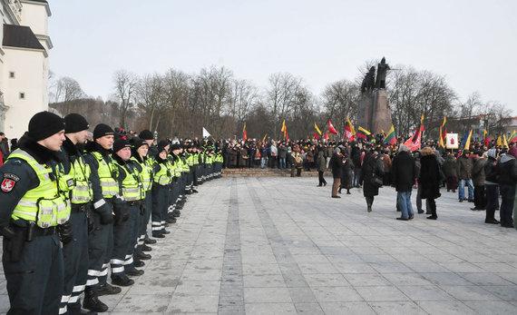 Andriaus Vaitkevičiaus/15min.lt nuotr./2013 m. kovo 11-osios eitynės
