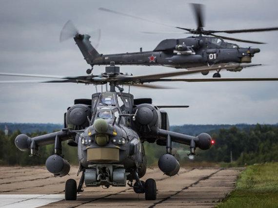 rostec.ru nuotr./Sraigtasparniai Mi-28N