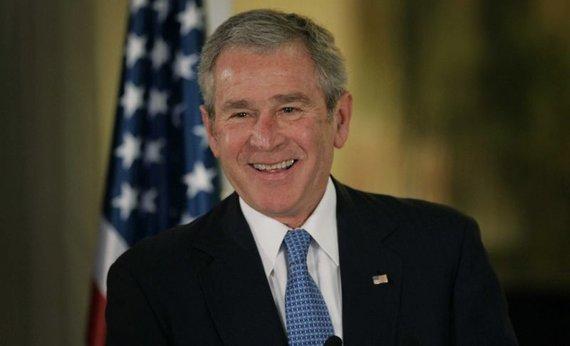 """""""Scanpix"""" nuotr./JAV prezidentas George'as W.Bushas."""