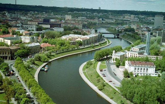 Irmanto Gelūno/15min.lt nuotr./Vilnius, kuomet Karaliaus Mindaugo tilto dar nebuvo
