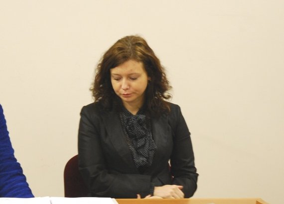 Sauliaus Chadasevičiaus / 15min nuotr./Generalinės prokuratūros vidaus tyrimų skyriaus vyriausiojo prokuroro padėjėja Gintarė Bliujienė.