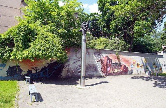 Irmanto Gelūno / 15min nuotr./Franko Zappos paminklas