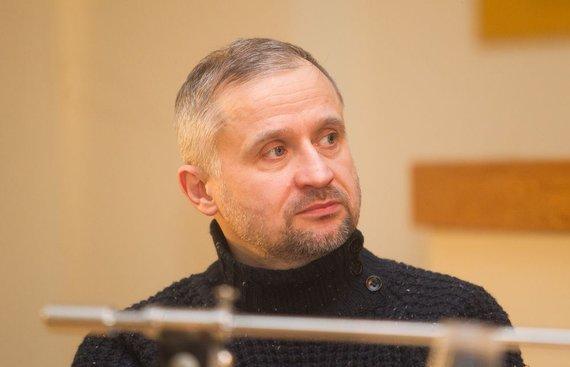 Irmanto Gelūno / 15min nuotr./Žurnalistas Ginas Dabašinskas