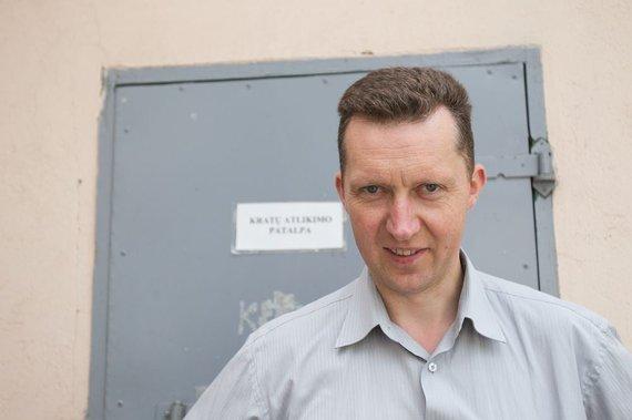 Irmanto Gelūno / 15min nuotr./Vilniaus pataisos namų direktoriaus pavaduotojas Česlovas Jocius