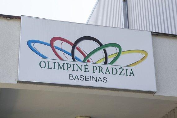 """Irmanto Gelūno / 15min nuotr./Baseinas """"Olimpinė pradžia"""""""