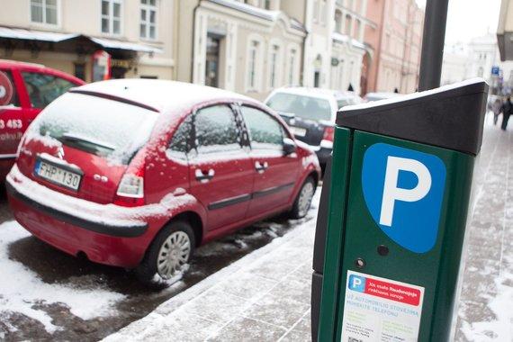 Irmanto Gelūno/15min.lt nuotr./Mokėjimo automatai nuo sausio 1 dienos priims tik eurus.