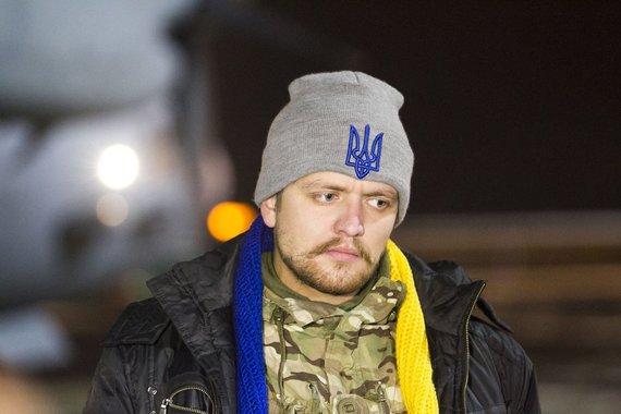 Irmanto Gelūno/15min.lt nuotr./Į Lietuvą buvo atskraidinti 7 Ukrainoje sužeisti kariai