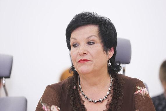 Irmanto Gelūno / 15min nuotr./Audronė Pitrėnienė lankėsi VTEK posėdyje