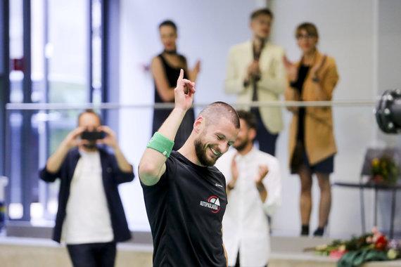 Irmanto Gelūno / 15min nuotr./Geriausias Lietuvos badmintonininkas Kęstutis Navickas baigė profesionalo karjerą